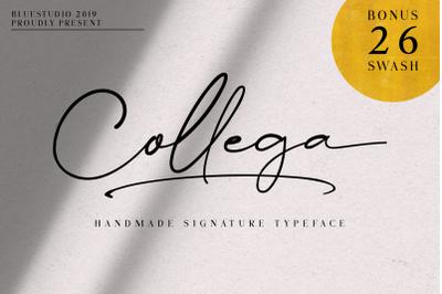 Collega // Handmade Signature