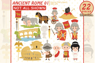 Ancient Rome clipart, Travel clip art, Roman empire art