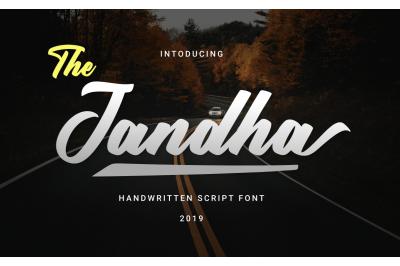 Jandha Bold Font
