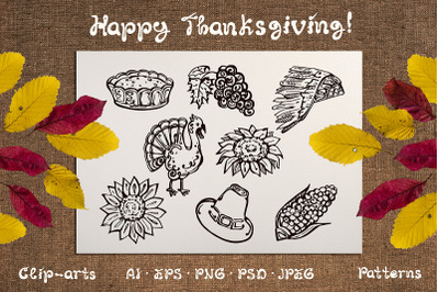 Thanksgiving Design Kit