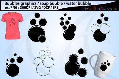 Bubbles svg silhouette