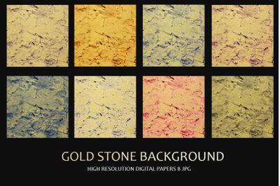 Gold Stone Background