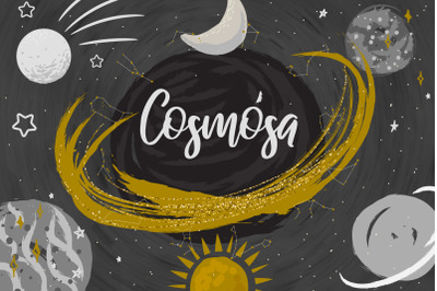 """Cosmosa"" - Graphics & Patterns"