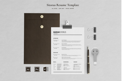 Mariah Resume Template