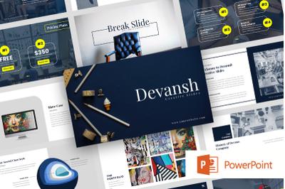 Devansh - Creative Business Power Point Template