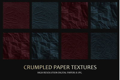 Crumpled Paper Textures