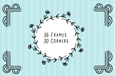 Frames and Corners