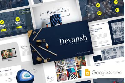 Devansh  - Creative Business Google Slide Template