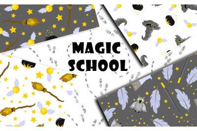 School of Magic Pattern Set Theme - Harry Potter, Hogwarts