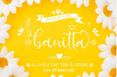 Banitta Font Trio & Extras