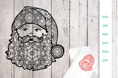 Santa Claus Zentangle