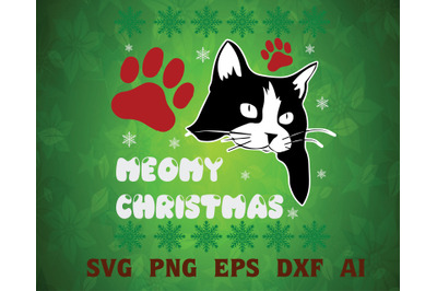 Merry Christmas svg, dxf,eps,png, Digital Download