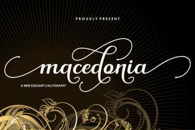 Macedonia Script
