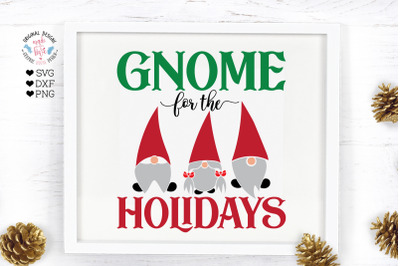 Gnome For the Holidays Cut File
