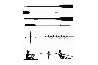 rowing, oar, paddle, svg, dxf, vector, eps, clipart, cricut, download