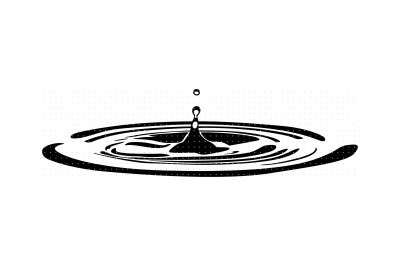 water ripple svg, dxf, vector, eps, clipart, cricut, download