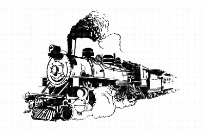 old steam train, vintage locomotive svg, dxf, vector, eps, clipart