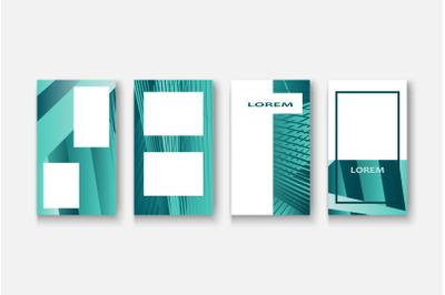 Social media network concept banner for design illustration