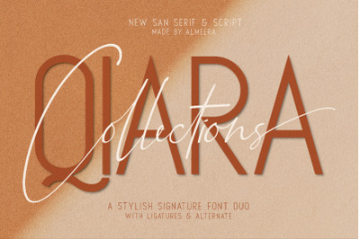 Qiara Collection Font Duo