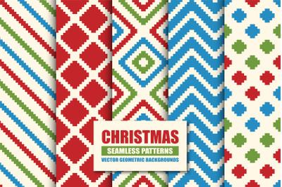 Textile seamless color patterns