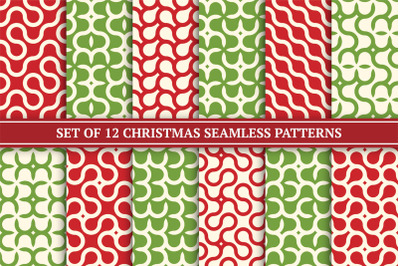 Color seamless creative patterns