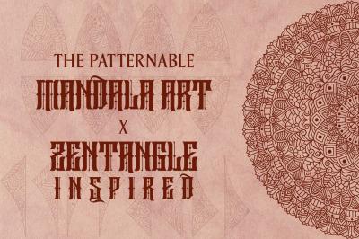 Mandala x Zen Art