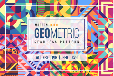 20 Modern Geometric Seamless Pattern