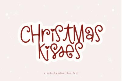 Christmas Kisses - Fun Holiday Font