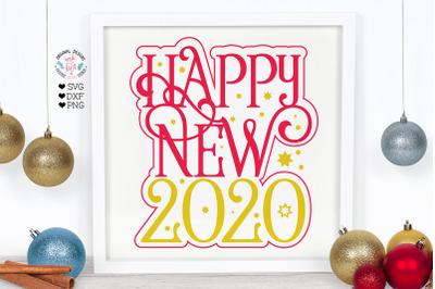 Happy New 2020 Cut File