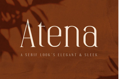 Atena - Serif Font