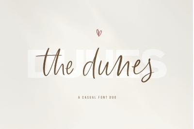 The Dunes - Script / Sans Font Duo with Extras!