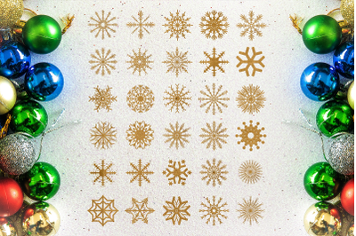 Snowflakes SVG Files Pack