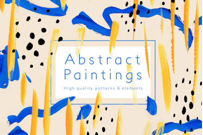 Abstract Paintings   Patterns & elements