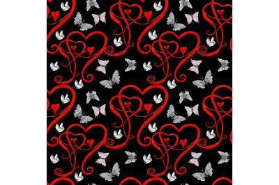 Seamless Love pattern