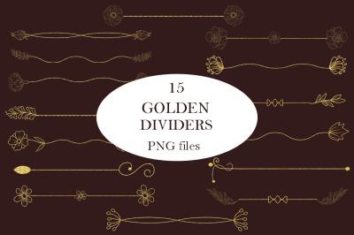 Golden dividers