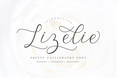 Lizelie Calligraphy font