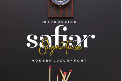 Safiar - Modern & Luxury Duo