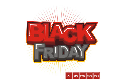 Black Friday Logo Design