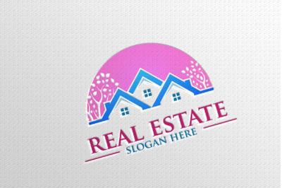Real estate Vector Logo Design, Building and Home 12
