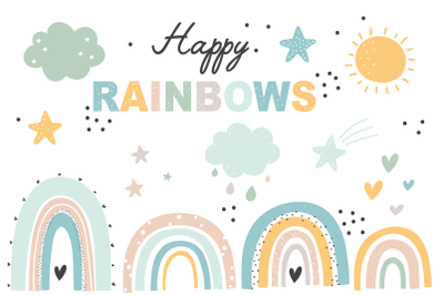 Happy Rainbows