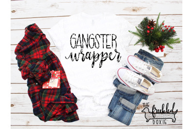 Gangster Wrapper SVG {Hand Lettered}