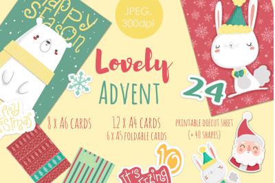 Advent-Christmas-Winter set