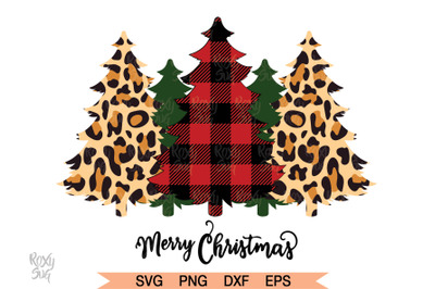 Christmas Tree SVG, Buffalo Plaid Trees svg, Christmas svg,