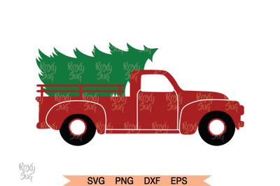 Christmas Tree Truck, Christmas Clipart, Christmas