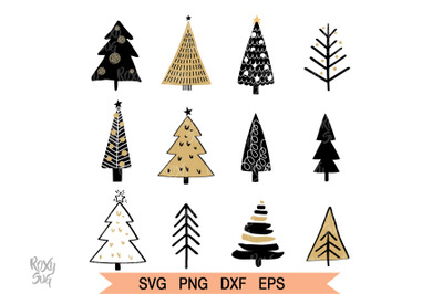Christmas Tree SVG, Merry Christmas SVG, Christmas Trees SVG