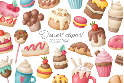 Dessert clipart collection