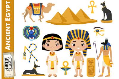 Egypt Clip art Ancient Egypt Clipart Travel clipart Egyptian clip art