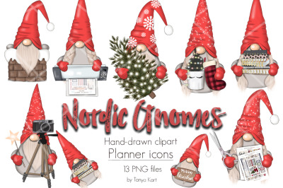 Nordic Gnomes Planner Icons