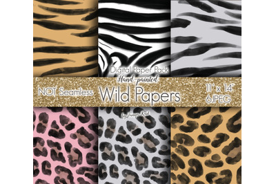 Wild Digital Paper Pack