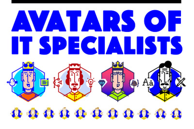 Avatars of IT Industry Specialists